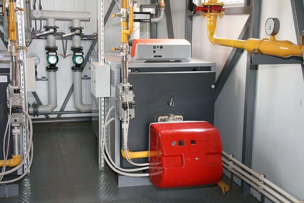 Przykład kotła gazowego