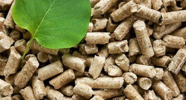 Materiał typu pellet do spalania w kotle